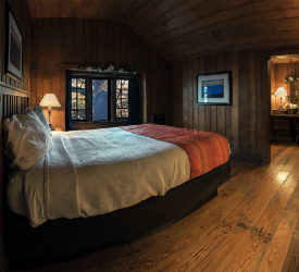 Cabin Room at Skyland in Shenandoah National Park